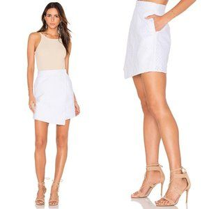 The Fifth Label The Arrivals White Eyelet Skirt M